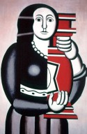 Woman Holding a Vase