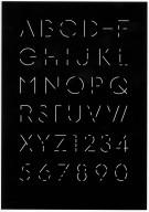 Morse Alphabet Poster
