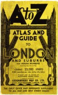A to Z Atlas and Guide to London and Suburbs