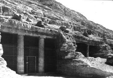 Beni Hasan: Rock-Cut Tombs
