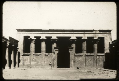 Temple of Horus: Courtyard