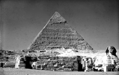 Great Pyramids: Pyramid of Khafre (Chefren)