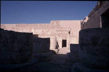 Mortuary Temple of Ramesses III: Hypostyle Hall
