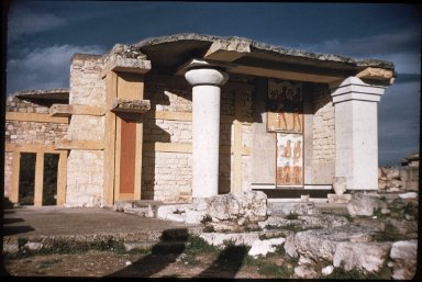 Palace of King Minos: Propylaeum (South)