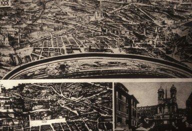 Sixtus V's Plan of Rome