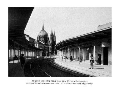 Vienna Railroad Station