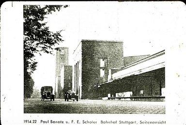 Stuttgart Railroad Station