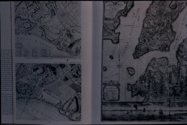Early Plan of New York City