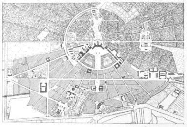 Plan of Karlsruhe