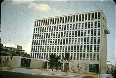 Embassy Office Building in Havana