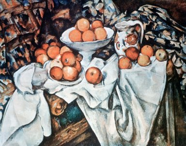 Still Life: Apples and Oranges