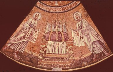 Baptistery of the Arians: Baptism of Christ and the Twelve Apostles