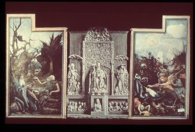 Isenheim Altarpiece: Shrine