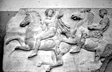 Parthenon: Sculpture - Frieze (West)