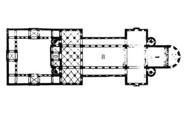 Saint Riquier Abbey Church, Monastery of Centula