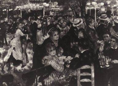 Dancing at the Moulin de la Galette, Montmartre
