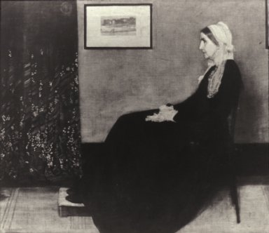 Arrangement in Black and Gray: The Artist's Mother