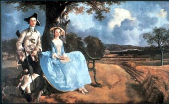 Portrait of Robert Andrews and his Wife