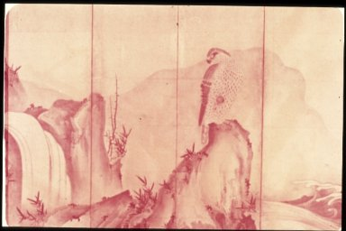 Portrait of Landscape with Hawks
