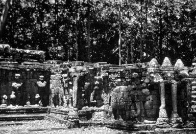 Angkor: Angkor Thom: Elephant Terrace