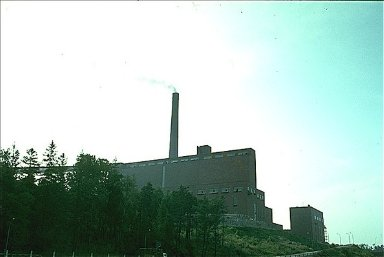 Sunila Pulp Mill and Housing Area