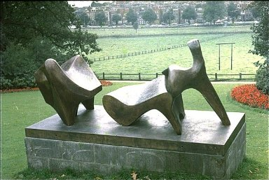 Three Leaning Figures