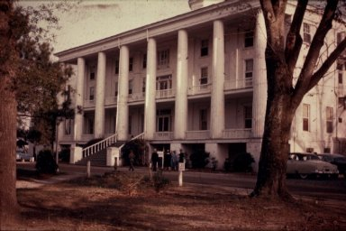 Chowan College: McDowell Columns Building