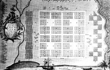Plan of New Ebenezer