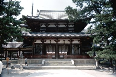 Horyu-ji Temple: Chumon (Middle Gate)