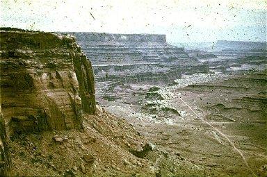 Sandstones and Shales Bordering Utah's San Juan River