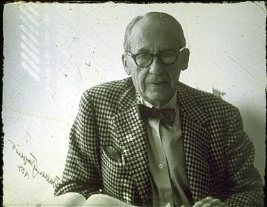 Portrait of Walter Adolph Gropius