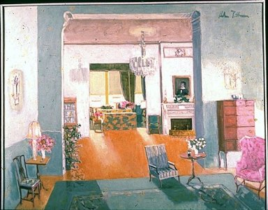 Interior of the Governor's Mansion, Raleigh