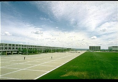 United States Air Force Academy: The Terrazzo