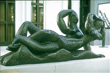 Two Reclining Remales. L.A. Museum