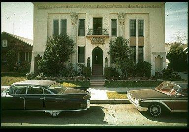 Egyptian Revival Apartment House