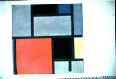 Composition with Red, Yellow & Blue
