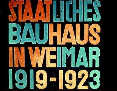 Staatliches Bauhaus Exhibition Catalog