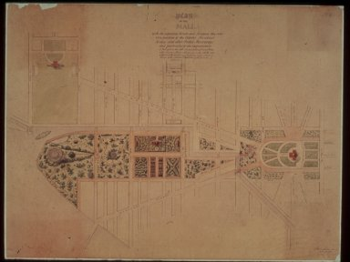 R. Mill Plan for Washington, D.C. Mall
