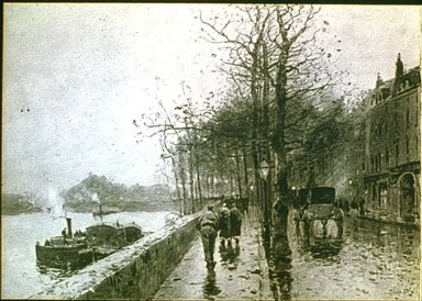 View of the Seine
