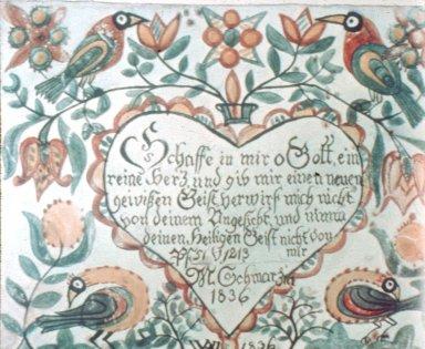 Taufschein (Birth and Baptismal Certificates)