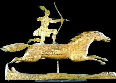 Weathervane- Indian on Horseback