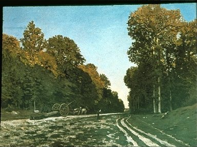 Road from Chailly to Fontainebleau