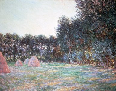 Meadow with Haystacks at Giverny