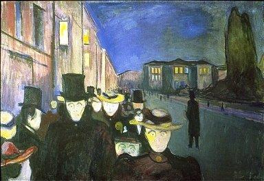 Evening on Karl Johan Street