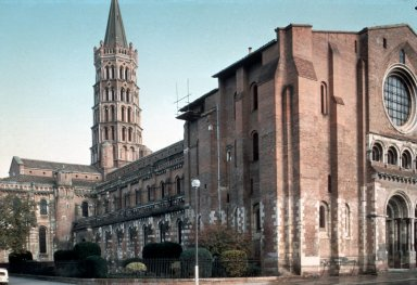 Saint Sernin Cathedral