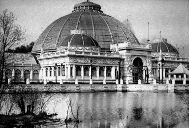 Chicago World's Fair (Columbian Exposition): Horticulture Building