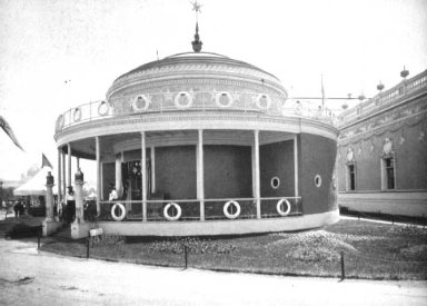 Chicago World's Fair (Columbian Exposition): White Star Steamship Co. Building