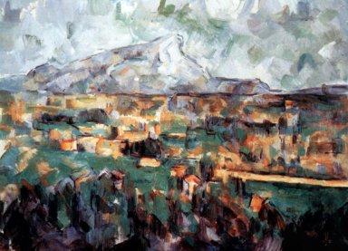 Mont Sainte Victoire Seen from Les Lauves