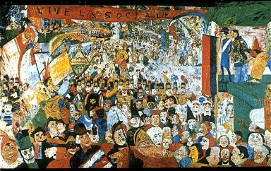 Entry of Christ into Brussels in 1889