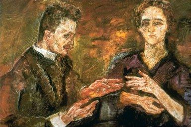 Portrait of Dr. Tietze and Wife (Hans Tietze and Erica Tietz-Conrat)